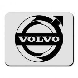 Килимок для миші Volvo logo