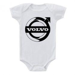 Дитячий бодік Volvo logo
