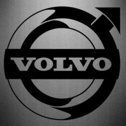 Наклейка Volvo logo