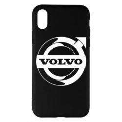 Чохол для iPhone X/Xs Volvo logo