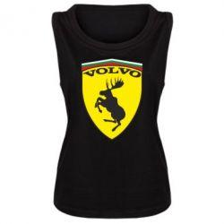 Женская майка Volvo Logo - FatLine