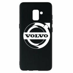 Чохол для Samsung A8+ 2018 Volvo logo