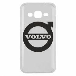 Чехол для Samsung J2 2015 Volvo