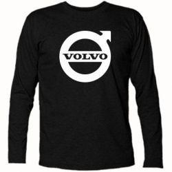Футболка с длинным рукавом Volvo - FatLine