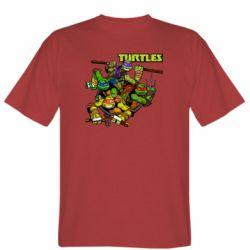 Чоловіча футболка Восьмібітних черепашки ніндзя