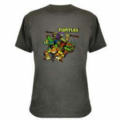 Камуфляжна футболка Восьмібітних черепашки ніндзя