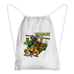 Рюкзак-мішок Восьмібітних черепашки ніндзя