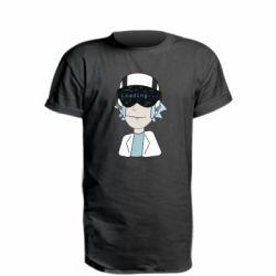 Удлиненная футболка vr rick
