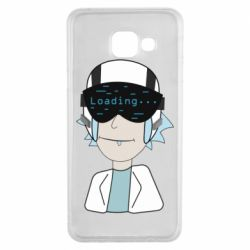 Чехол для Samsung A3 2016 vr rick