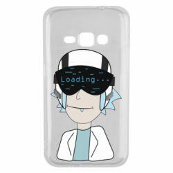 Чехол для Samsung J1 2016 vr rick