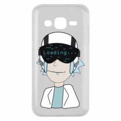 Чехол для Samsung J2 2015 vr rick