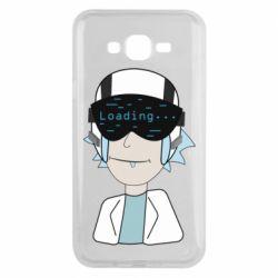 Чехол для Samsung J7 2015 vr rick