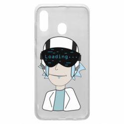 Чехол для Samsung A30 vr rick