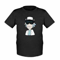 Детская футболка vr rick
