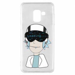 Чехол для Samsung A8 2018 vr rick