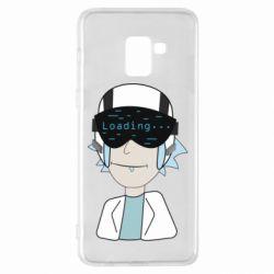Чехол для Samsung A8+ 2018 vr rick