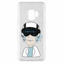 Чехол для Samsung S9 vr rick