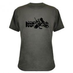 Камуфляжная футболка Вратарь - FatLine