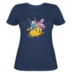 Женская футболка Время Приключений - FatLine