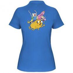 Женская футболка поло Время Приключений - FatLine