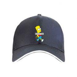 Кепка Всі шляхом Барт симпсон