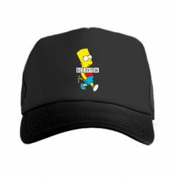 Кепка-тракер Всі шляхом Барт симпсон