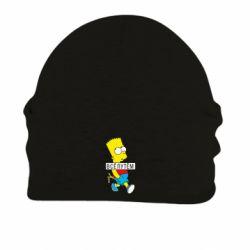 Шапка на флісі Всі шляхом Барт симпсон