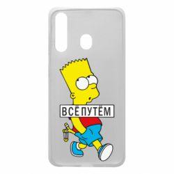 Чохол для Samsung A60 Всі шляхом Барт симпсон