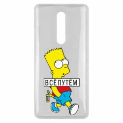 Чехол для Xiaomi Mi9T Все путем Барт симпсон