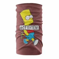 Бандана-труба Всі шляхом Барт симпсон