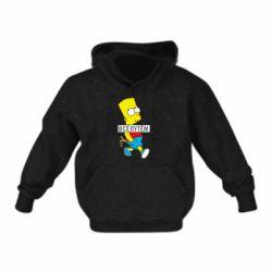 Дитяча толстовка Всі шляхом Барт симпсон