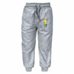 Дитячі штани Всі шляхом Барт симпсон