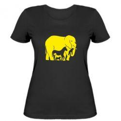 Жіноча футболка все в одному - FatLine