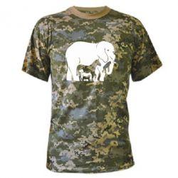 Камуфляжна футболка все в одному - FatLine