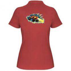 Жіноча футболка поло Вспиш 2