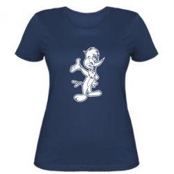 Женская футболка Вуди Вудпекер - FatLine