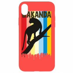 Чохол для iPhone XR Wakanda black panther