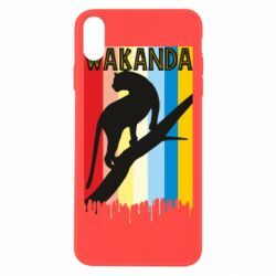 Чохол для iPhone Xs Max Wakanda black panther