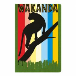 Блокнот А5 Wakanda black panther
