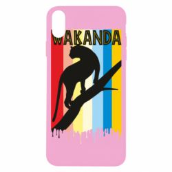 Чохол для iPhone X/Xs Wakanda black panther