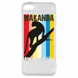 Чохол для iphone 5/5S/SE Wakanda black panther