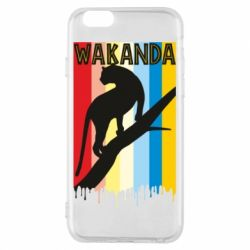 Чохол для iPhone 6/6S Wakanda black panther