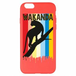 Чохол для iPhone 6 Plus/6S Plus Wakanda black panther