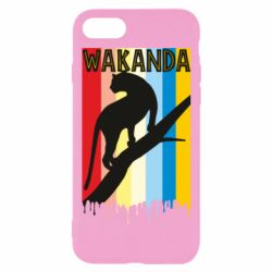 Чохол для iPhone 7 Wakanda black panther