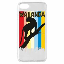 Чохол для iPhone 8 Wakanda black panther