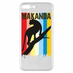 Чохол для iPhone 8 Plus Wakanda black panther