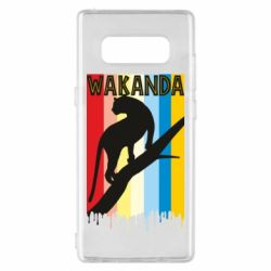 Чохол для Samsung Note 8 Wakanda black panther
