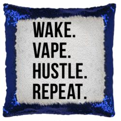 Наклейка Wake.Vape.Hustle.Repeat. - FatLine