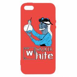 Купить Игра престолов, Чехол для iPhone5/5S/SE Walker White, FatLine