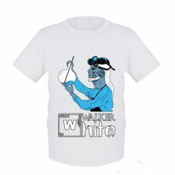 Дитяча футболка Walker White